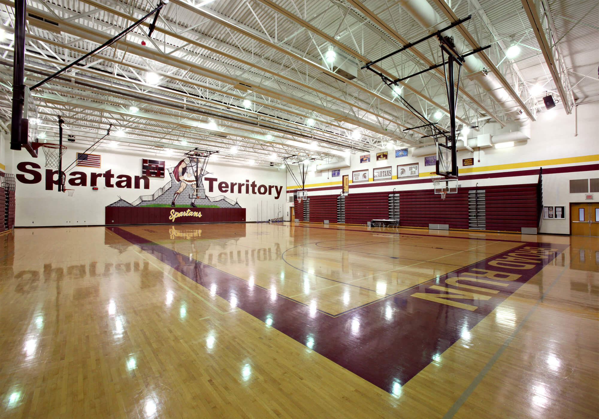 Broad Run HS Gymnasium